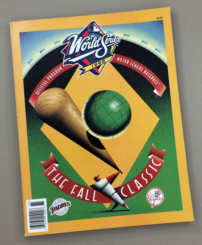 1998 World Series Program