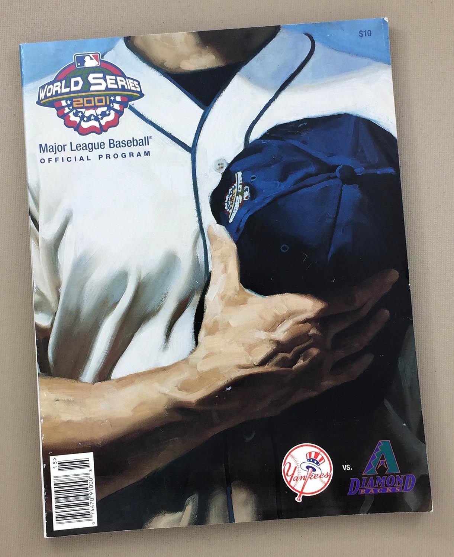 2001 World Series Program