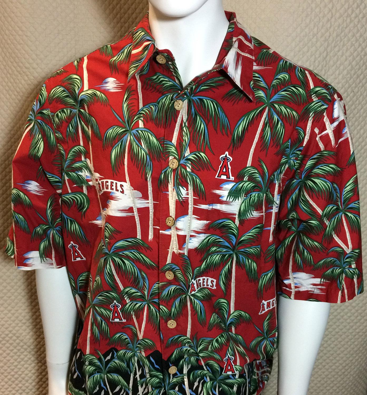 California Angels Reyn Spooner Hawaiian Shirt