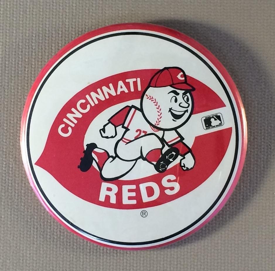 Cincinnati Reds Team Button