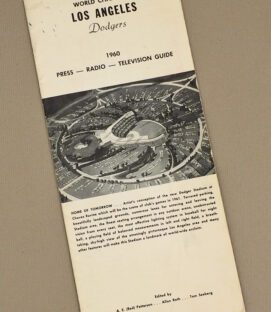 Los Angeles Dodgers 1960 Press Guide