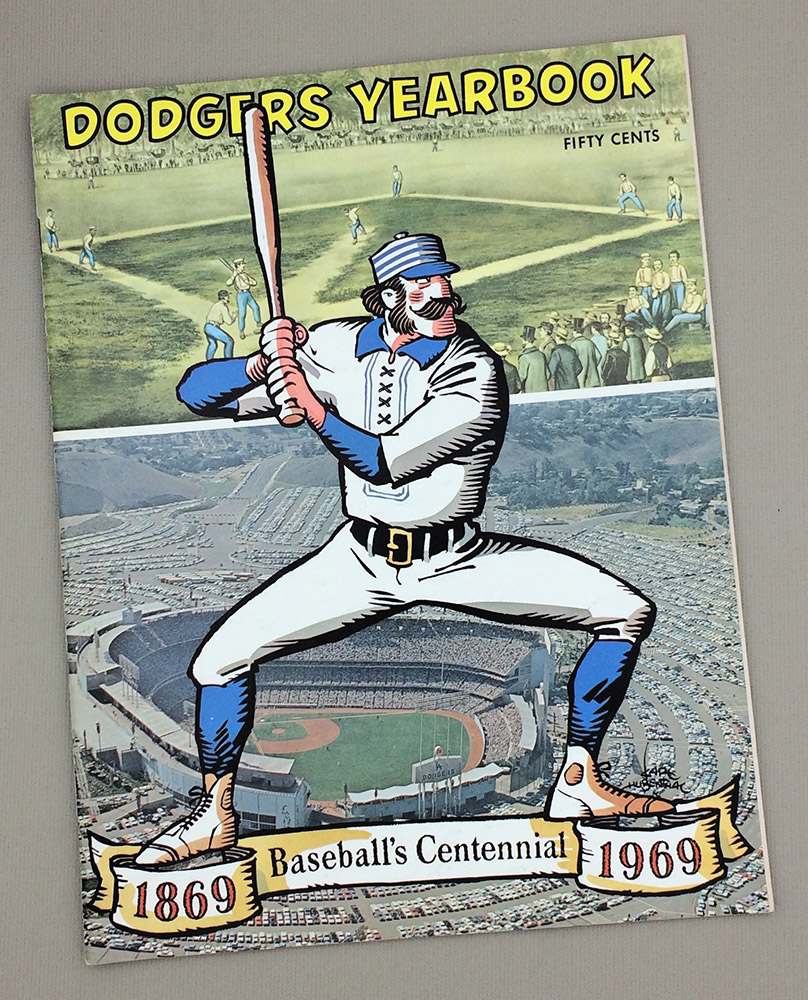 1969 Los Angeles Dodgers Yearbook
