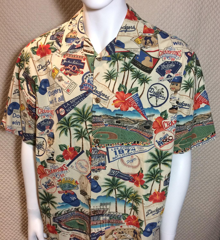 LA Dodgers Reyn Spooner Hawaiian Shirt