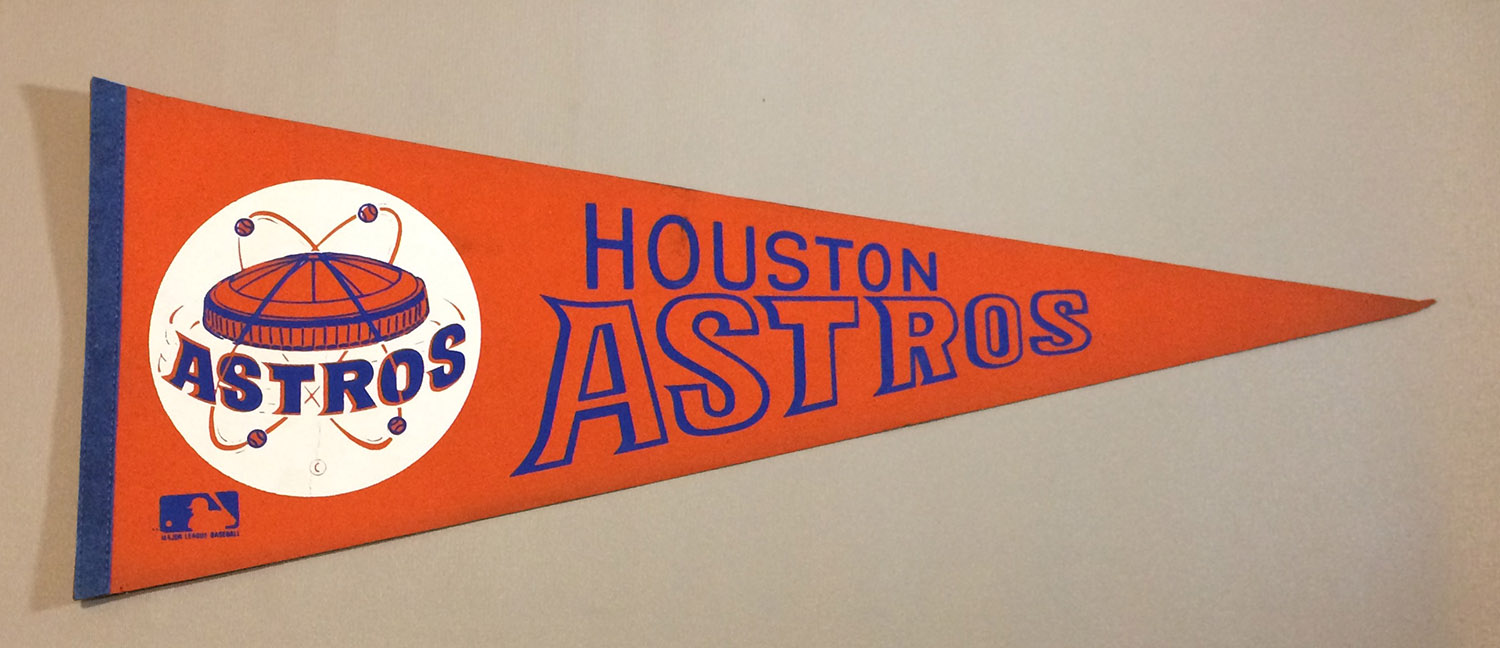 Houston Astros 1970s Team Pennant