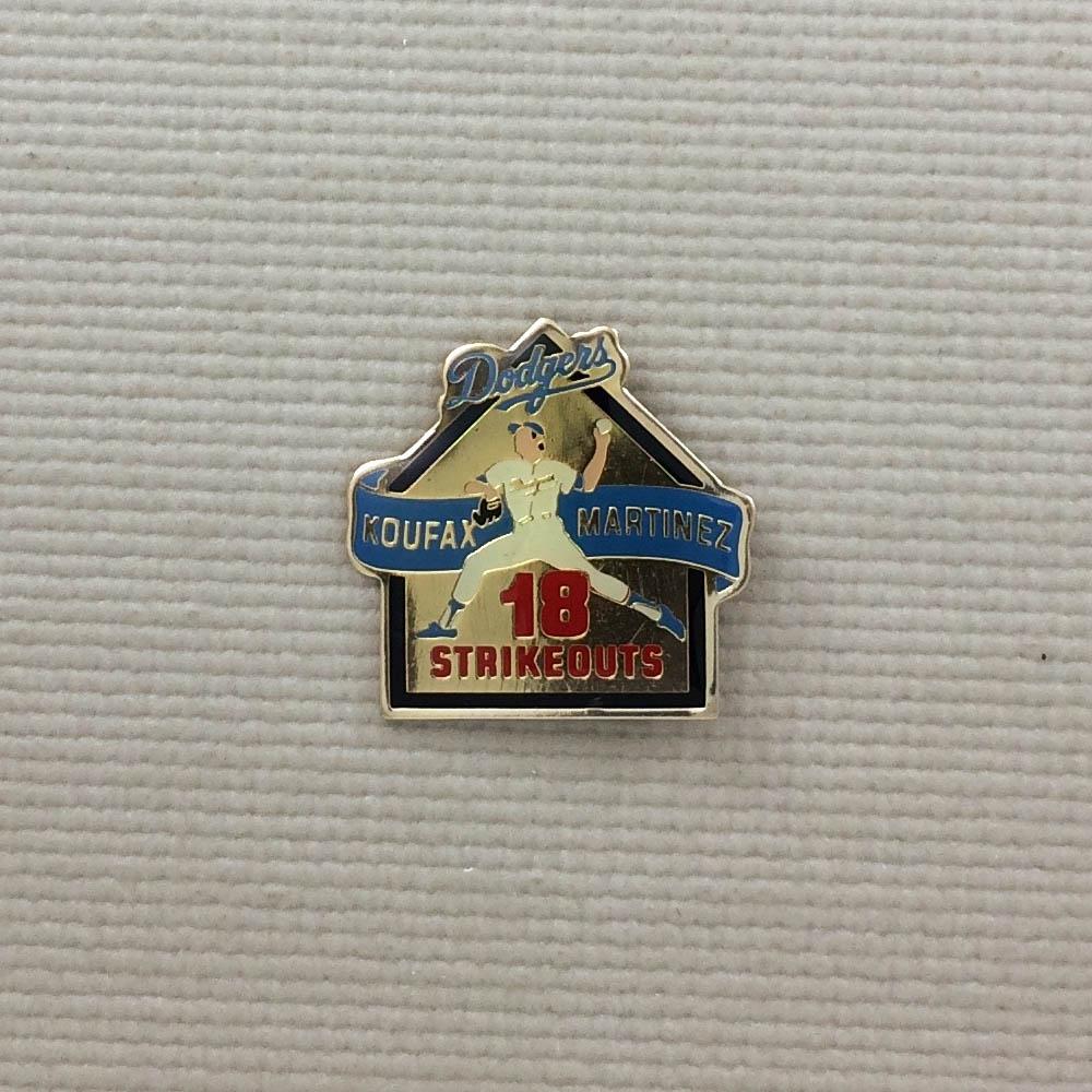 Los Angeles Dodgers Sandy Koufax 18K Pin