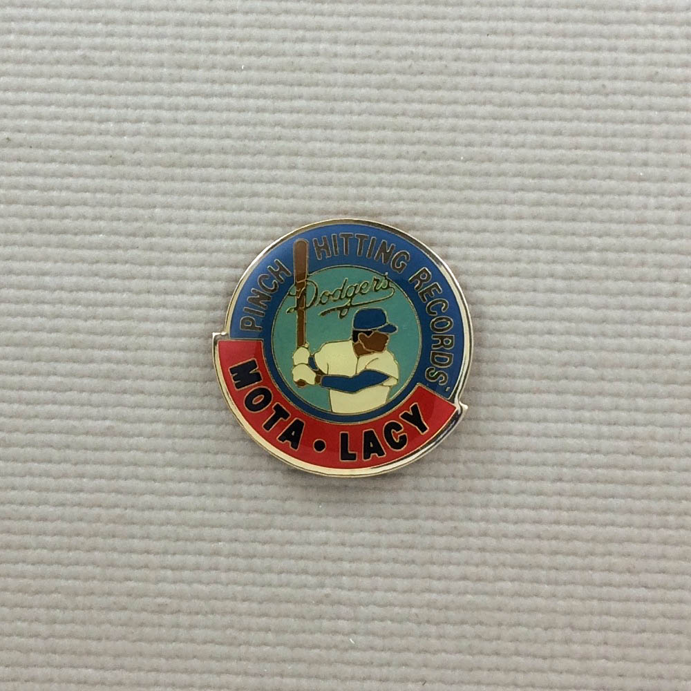 Los Angeles Dodgers Pinch Hitting Records Pin