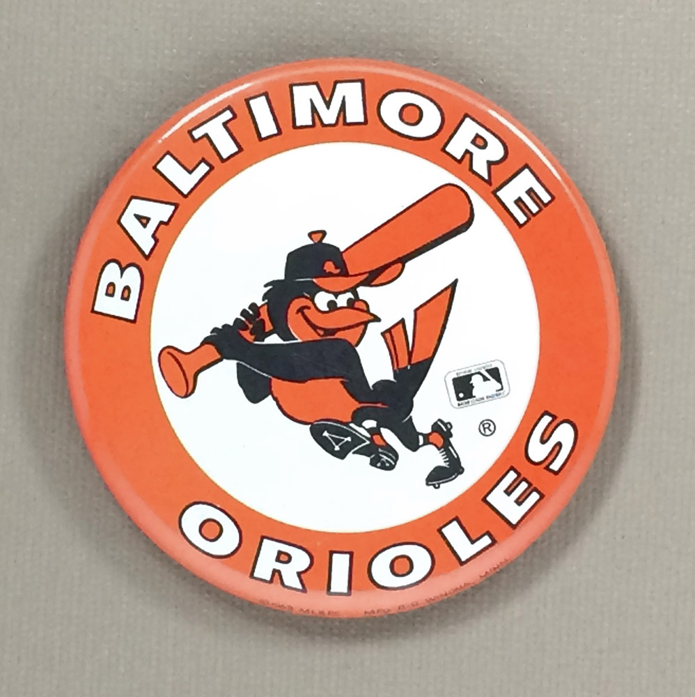 1969 Baltimore Orioles Team Button