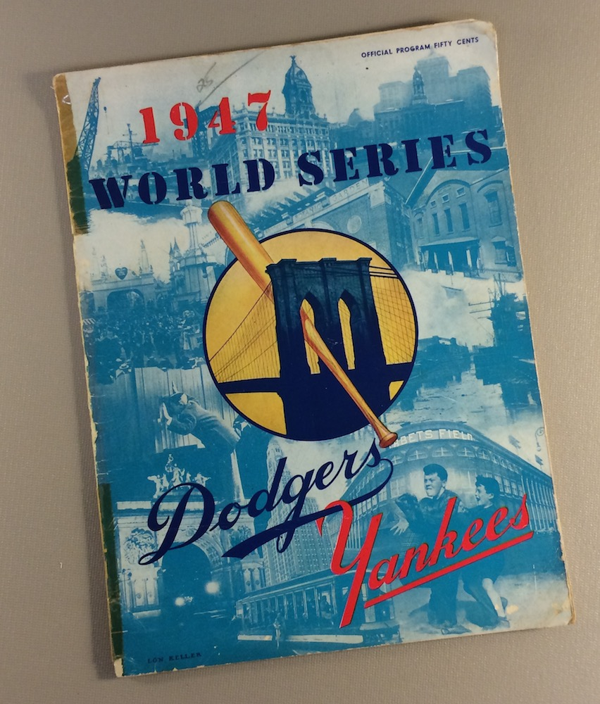 World Series 1947 Program