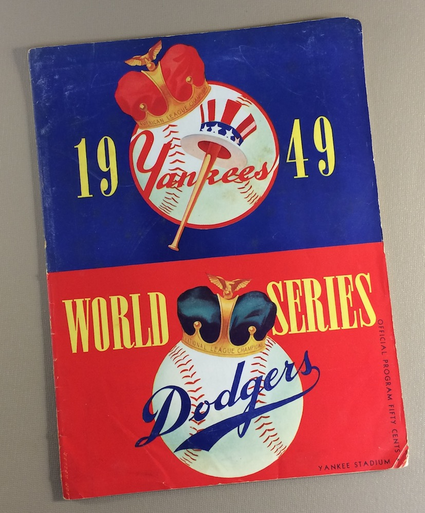 World Series 1949 Program