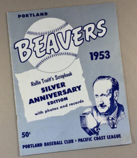 Portland Beavers 1953 Yearbook