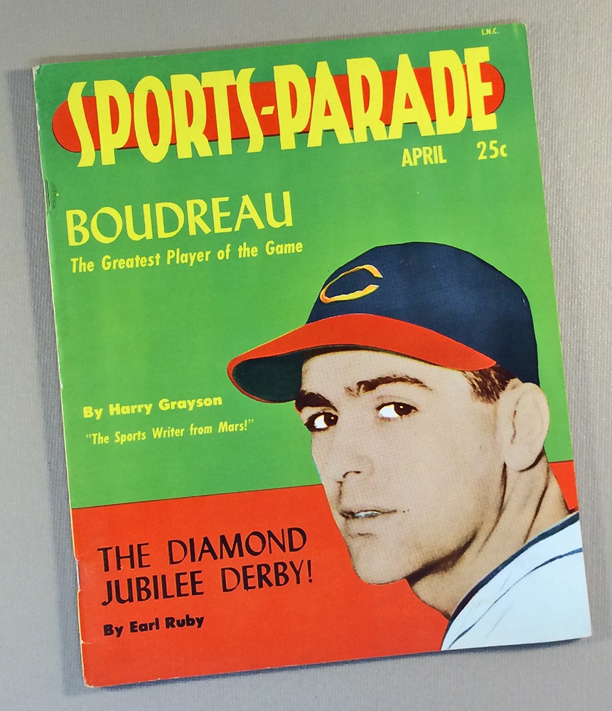 April 1949 Sports Parade Magazine