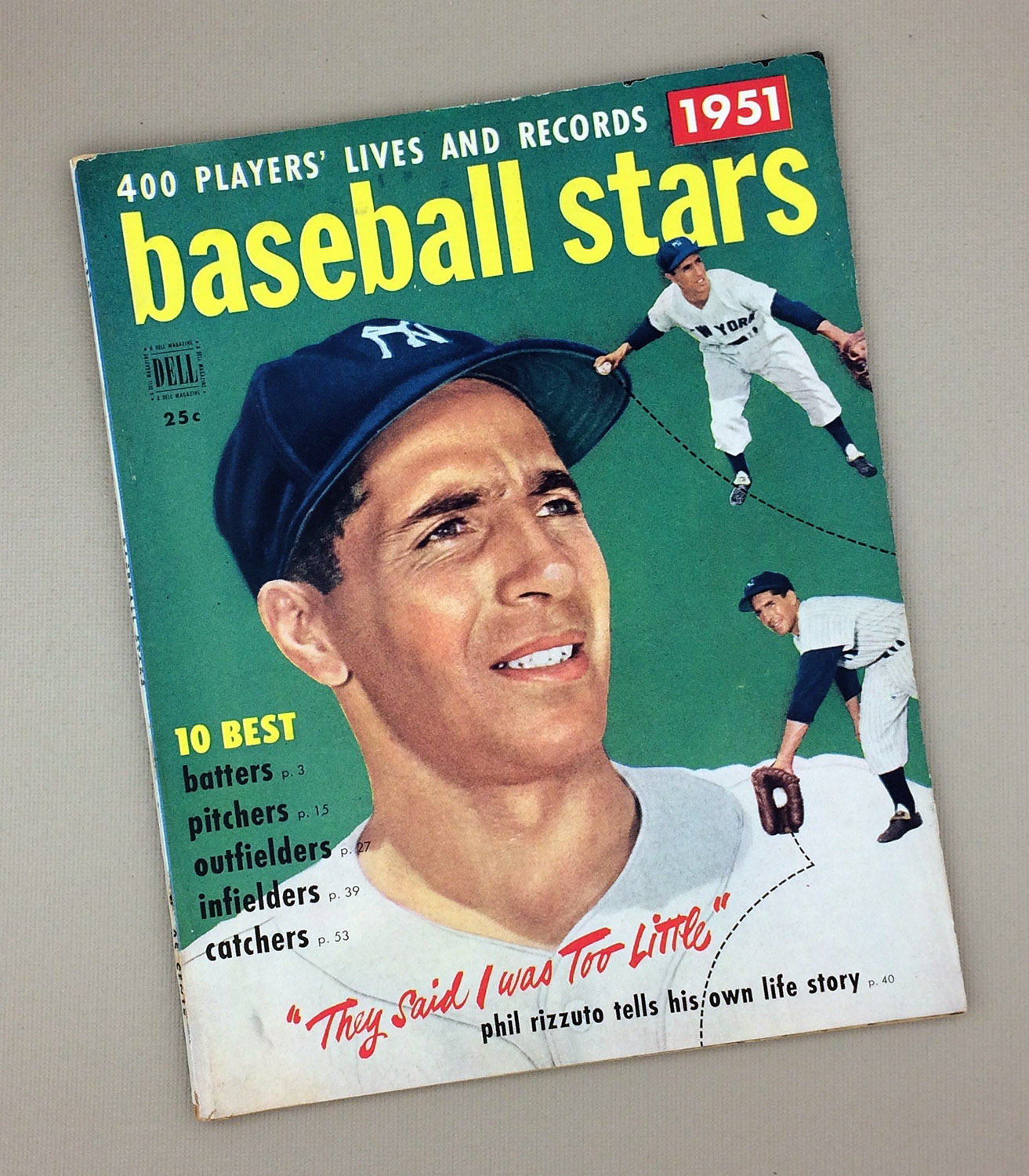 1951 DELL BASEBALL STARS Magazine