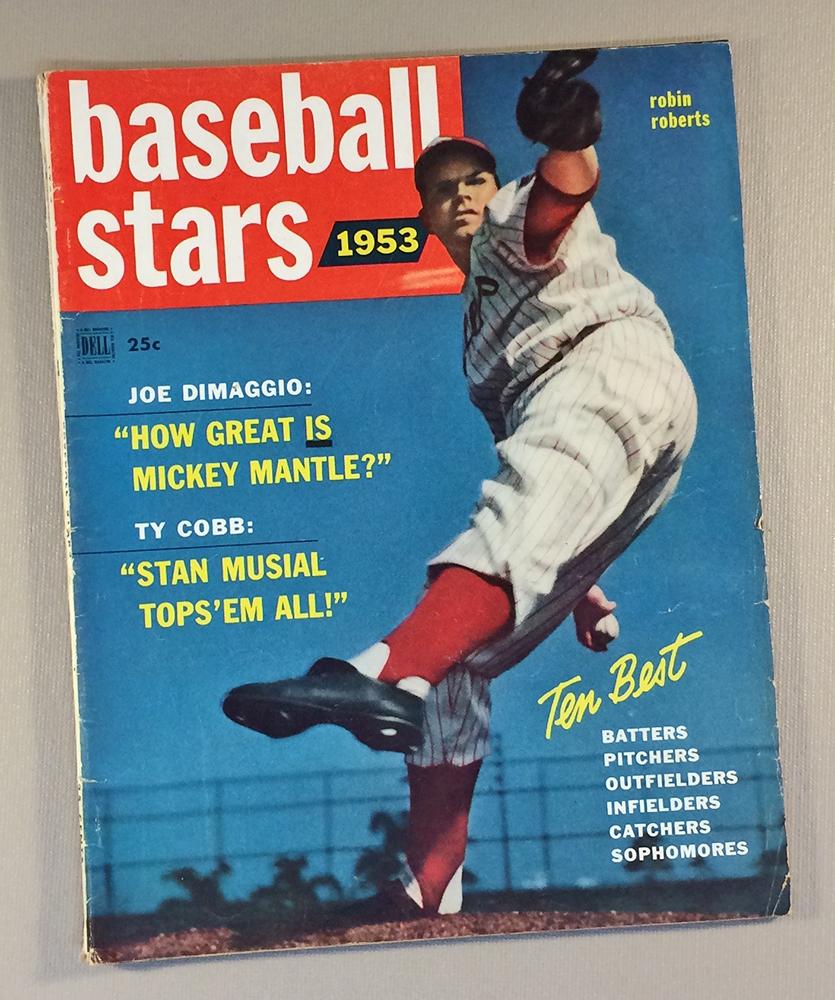 1953 Baseball Stars Magazine