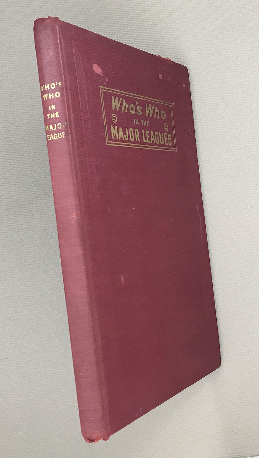 Who's Who In The Major Leagues by John P. Carmichael 1945