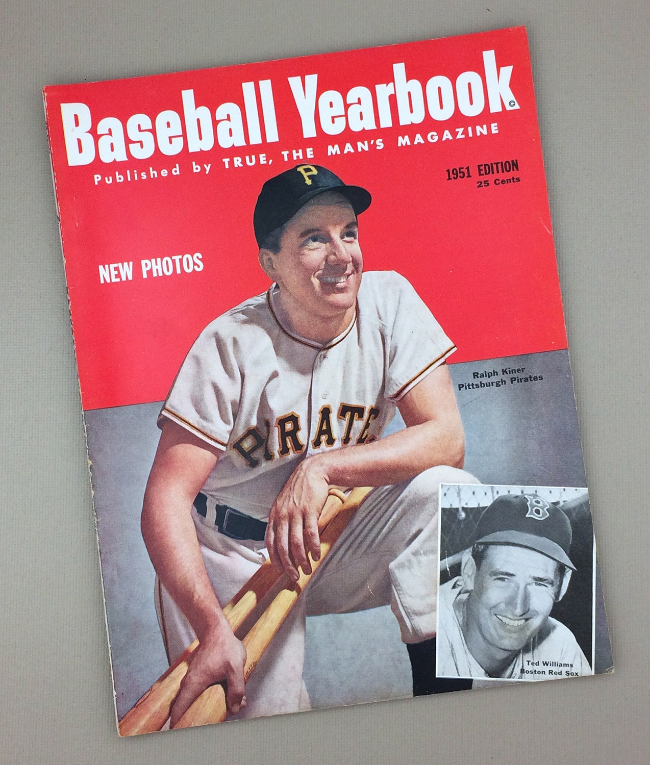 1951 BASEBALL YEARBOOK Magazine