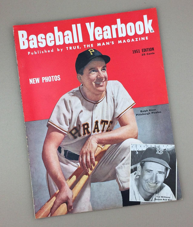 1951 BASEBALL YEARBOOK Magazine