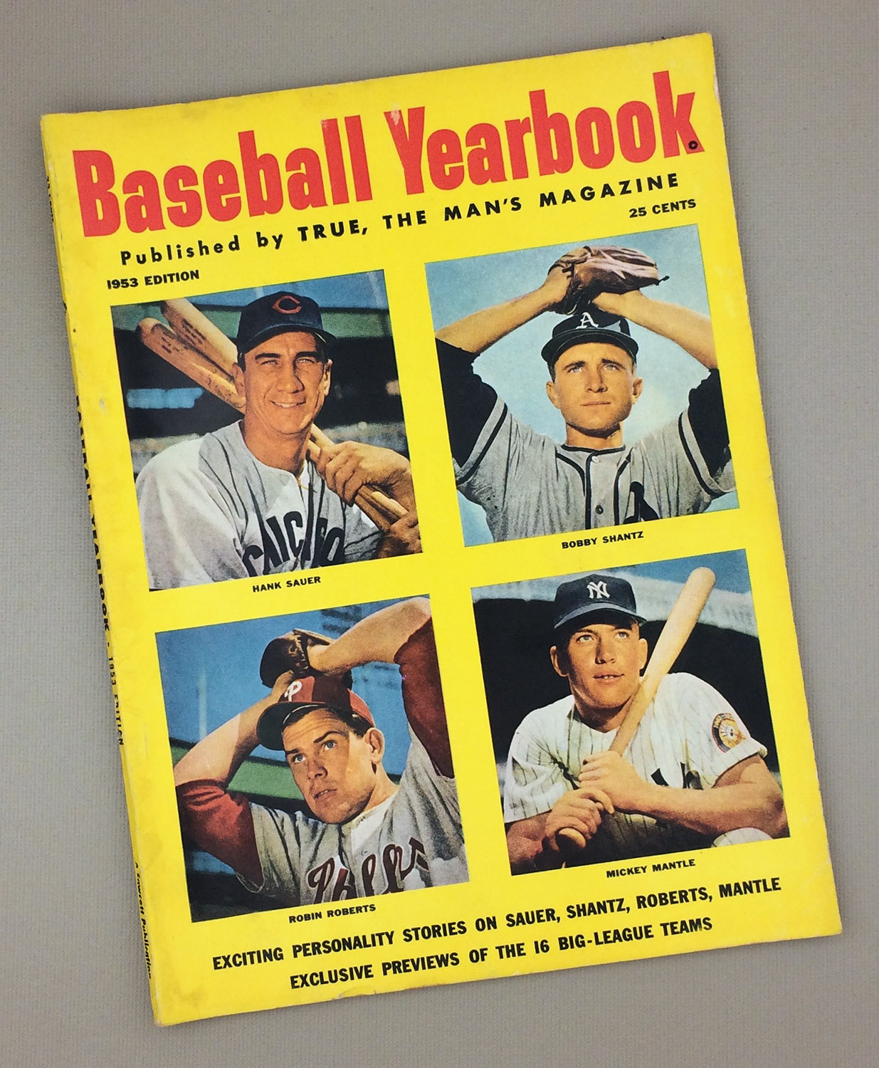 1953BASEBALL YEARBOOK Magazine
