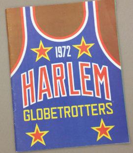 Harlem Globetrotters 1972 Program