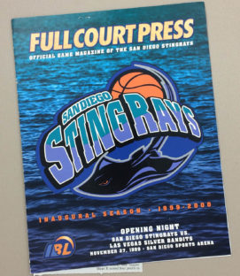 San Diego Stingrays Inaugural Program