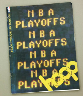 Los Angeles Lakers 1980 Playoff Program