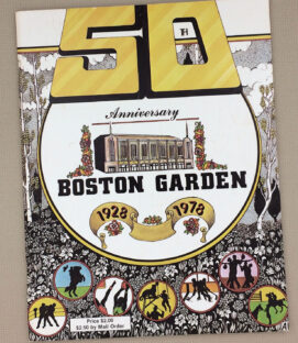 1928-1978 Boston Garden 50th Anniversary Magazine