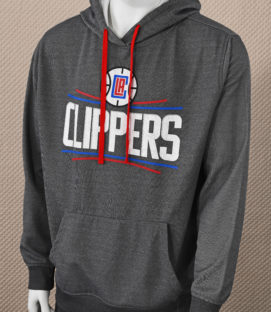 Los Angeles Clippers Gray Hoodie
