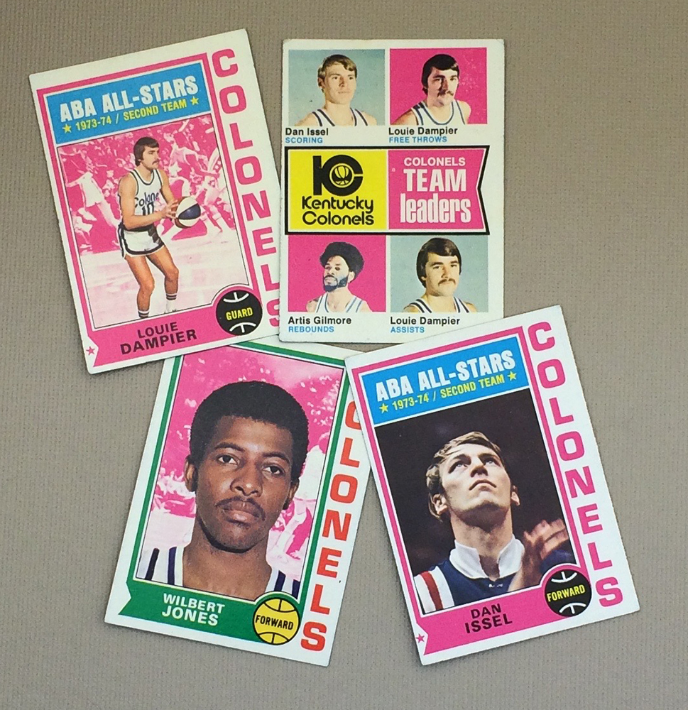 1974-75 Kentucky Colonels Collectors Card Set