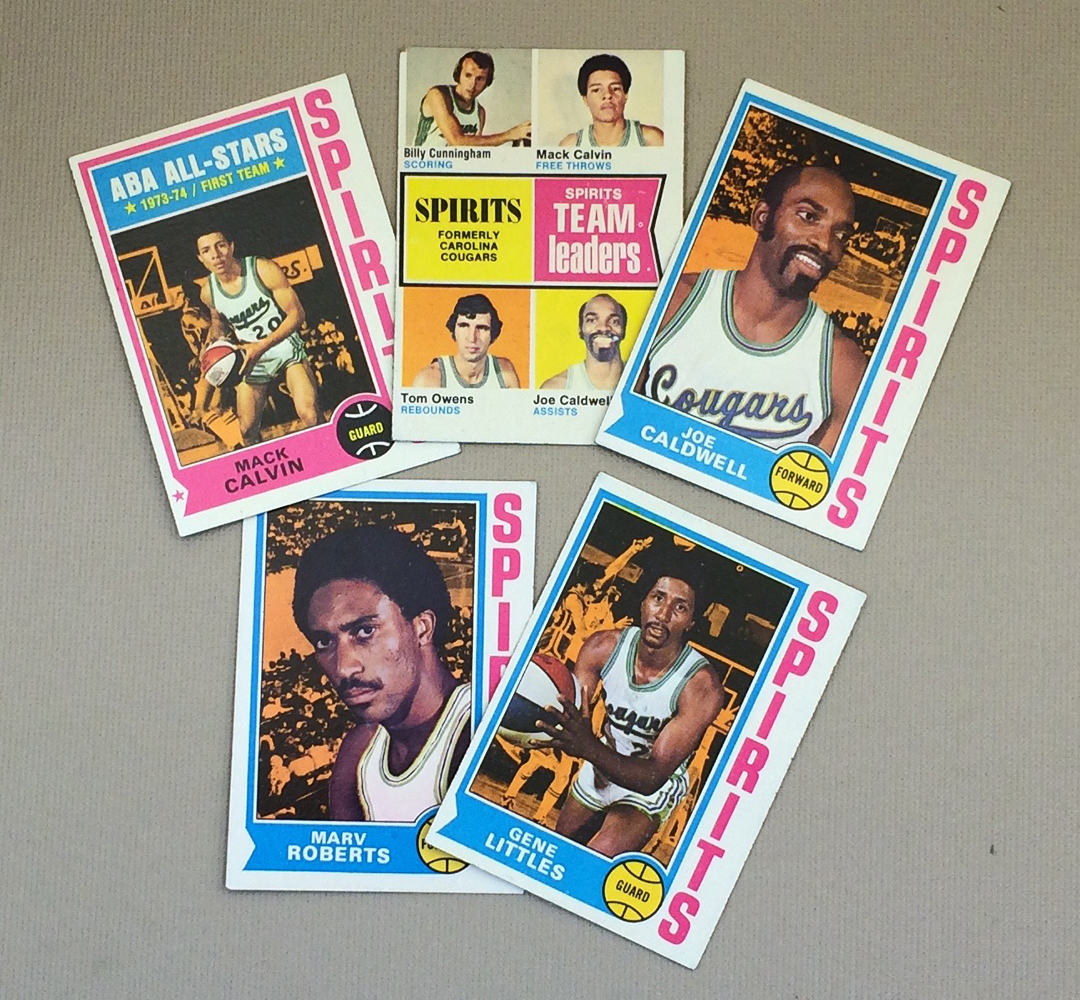 1974-75 Spirits of St Louis Collectors Card Set