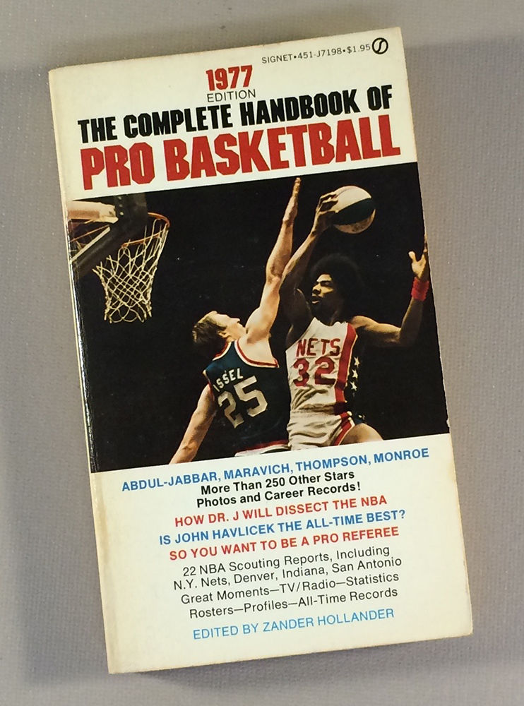 1977 The Complete Handbook of Pro Basketball