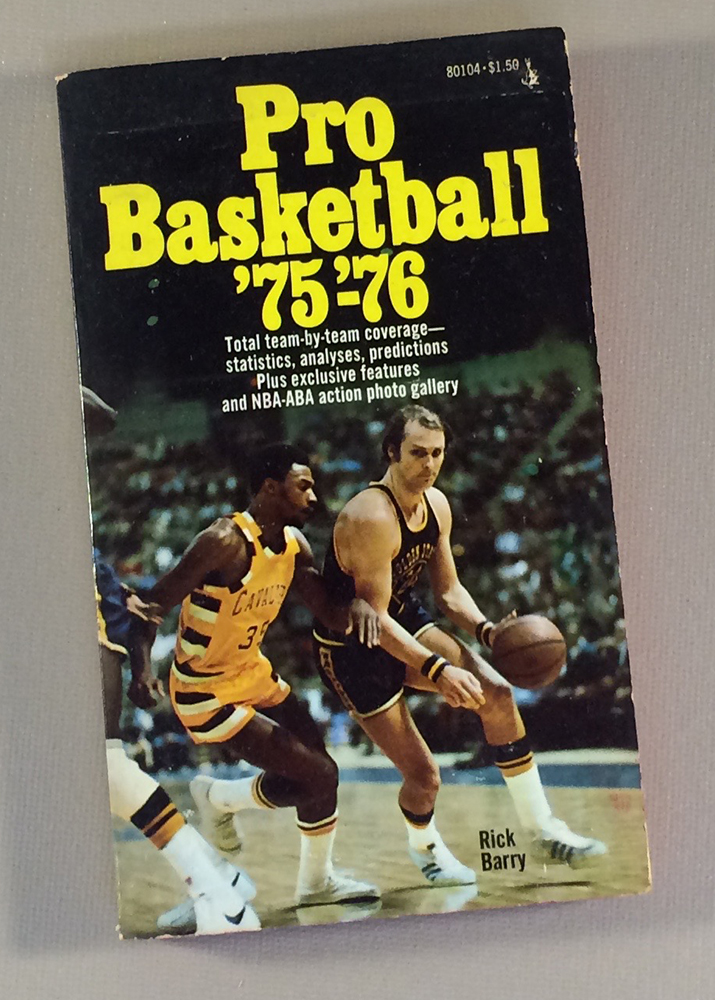 Pro Basketball 75-76 By Rick Barry
