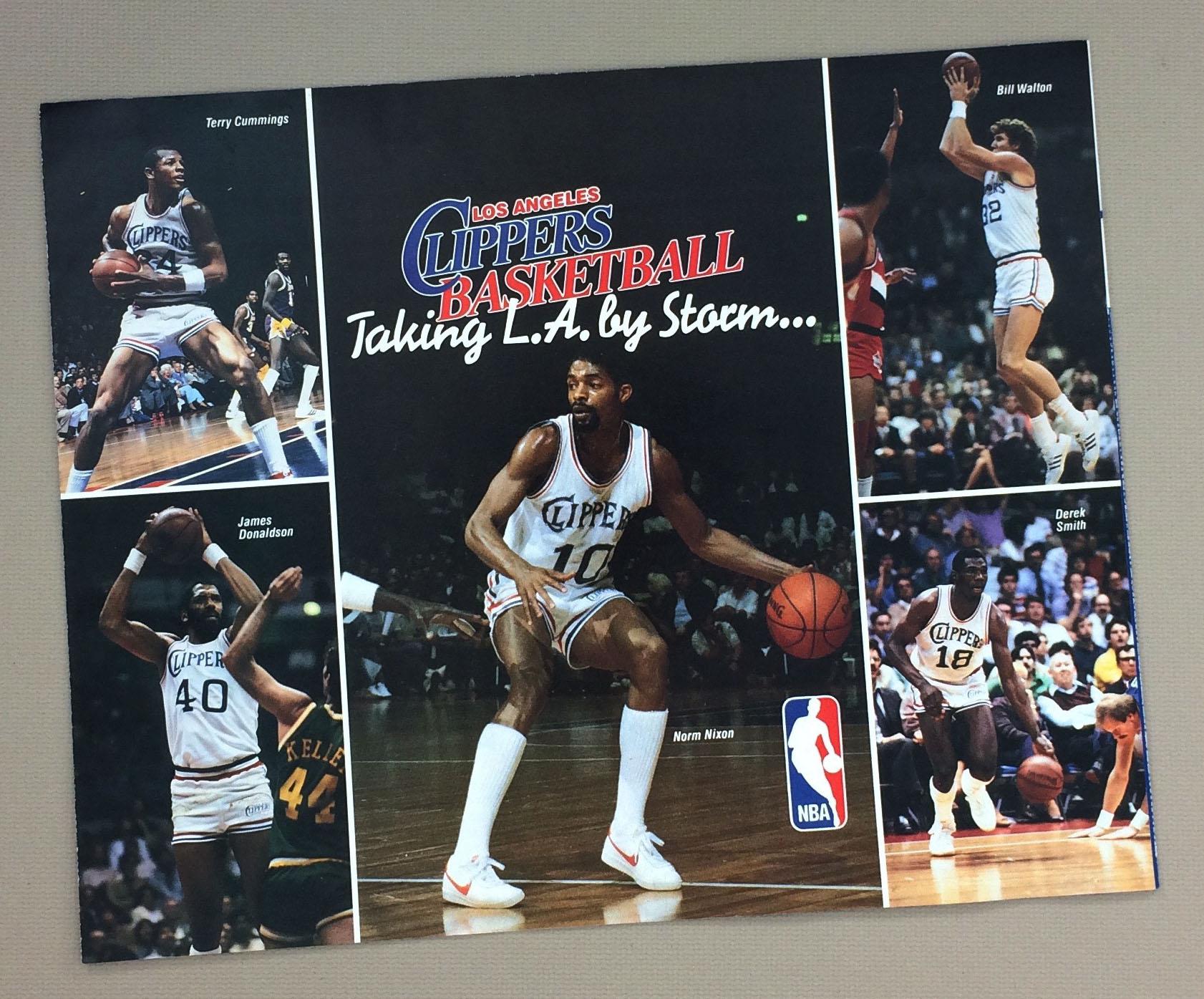 Los Angeles Clippers Inaugural Season Ticket Brochure