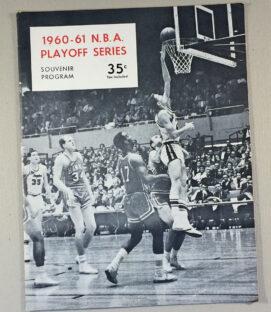 1960-61 Los Angeles Lakers Program