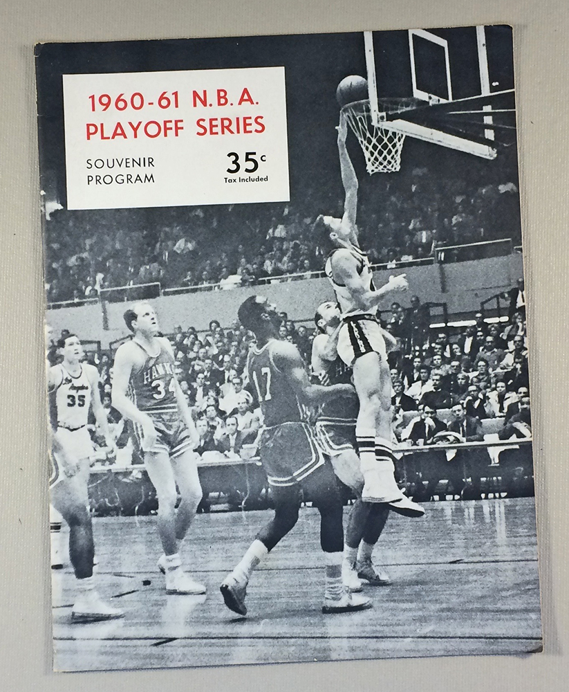 1960-61 Los Angeles Lakers Program