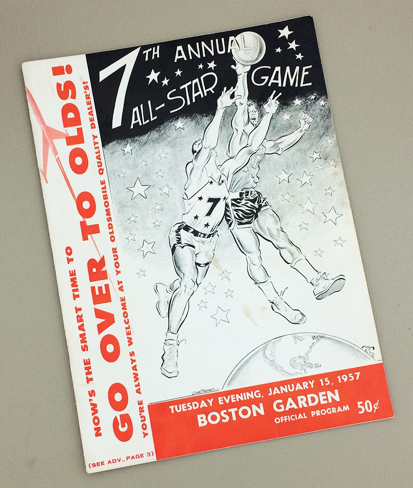NBA 1957 All-Star Game Program