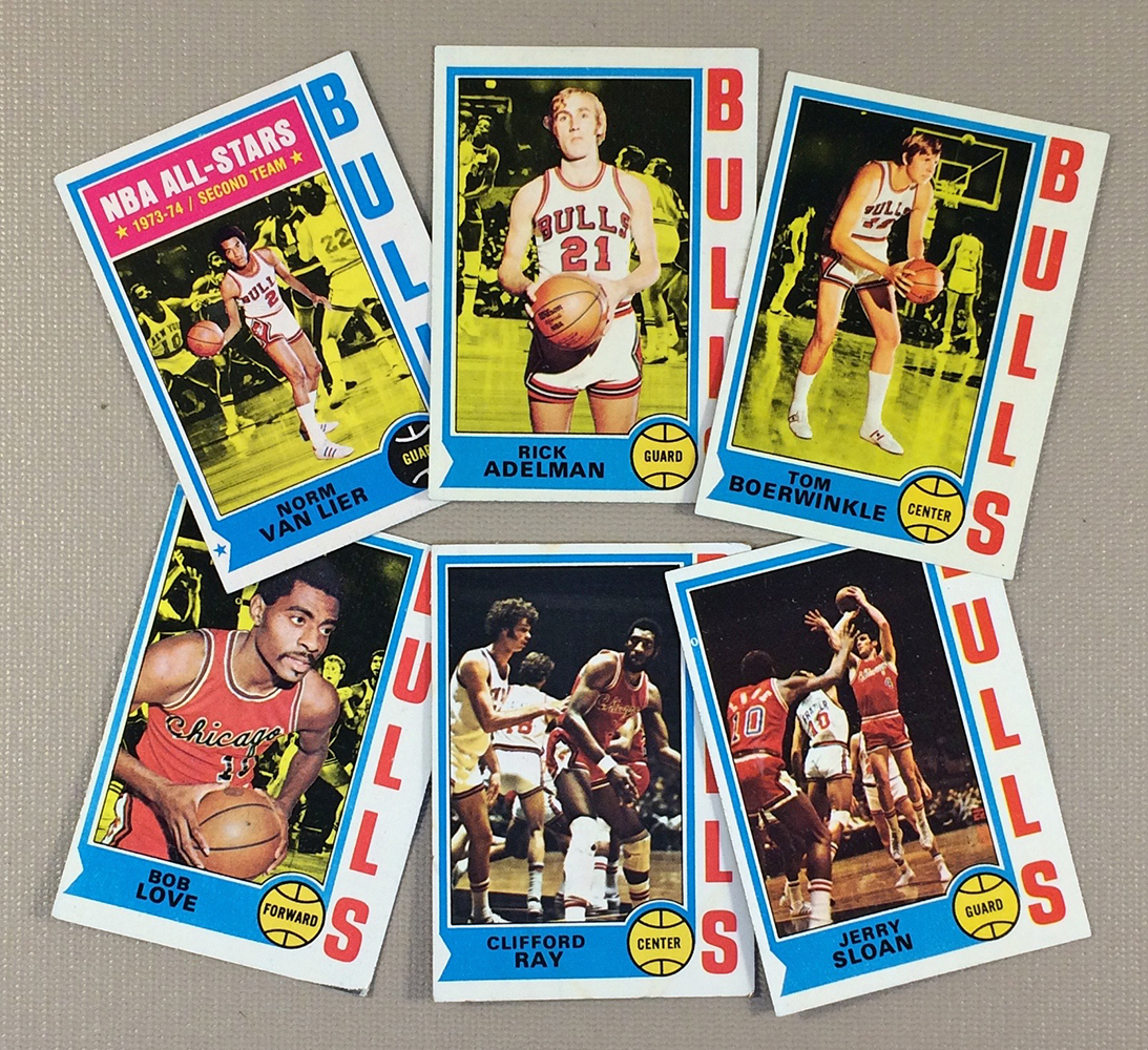 1974-75 Chicago Bulls Collectors Card Set