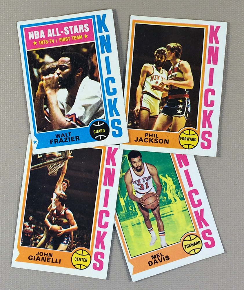 1974-75 New York Knicks Collectors Card Set