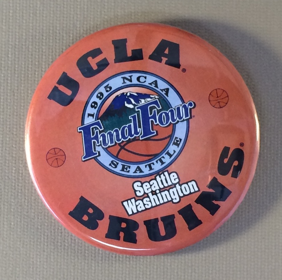 NCAA Final Four 1995 Button 2