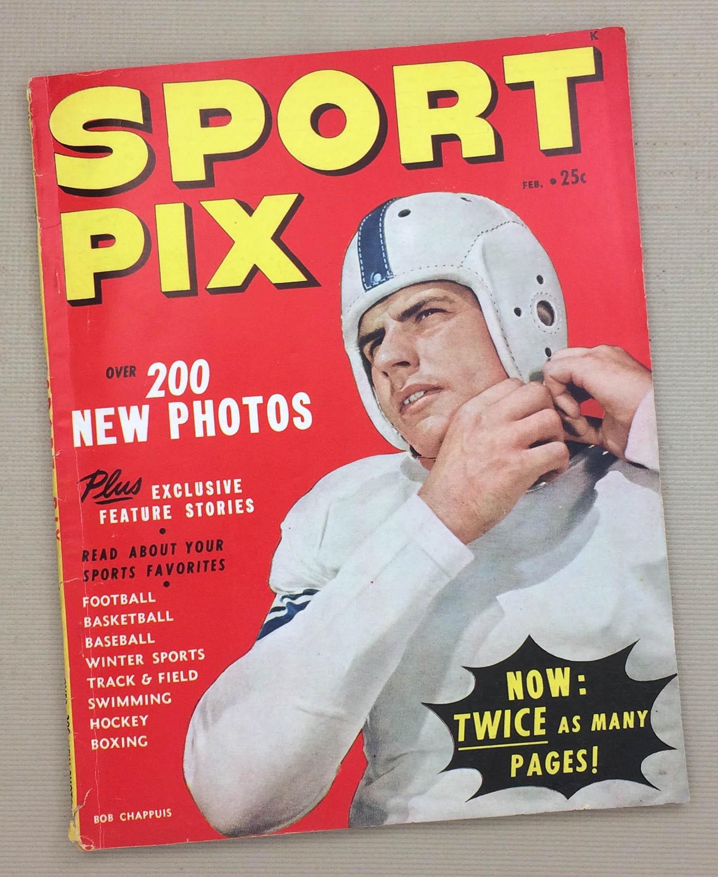 Sport Pix Magazine February 1949