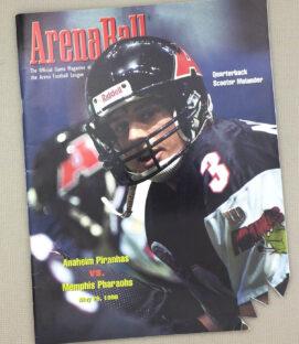 Anaheim Piranhas Arena Football Program