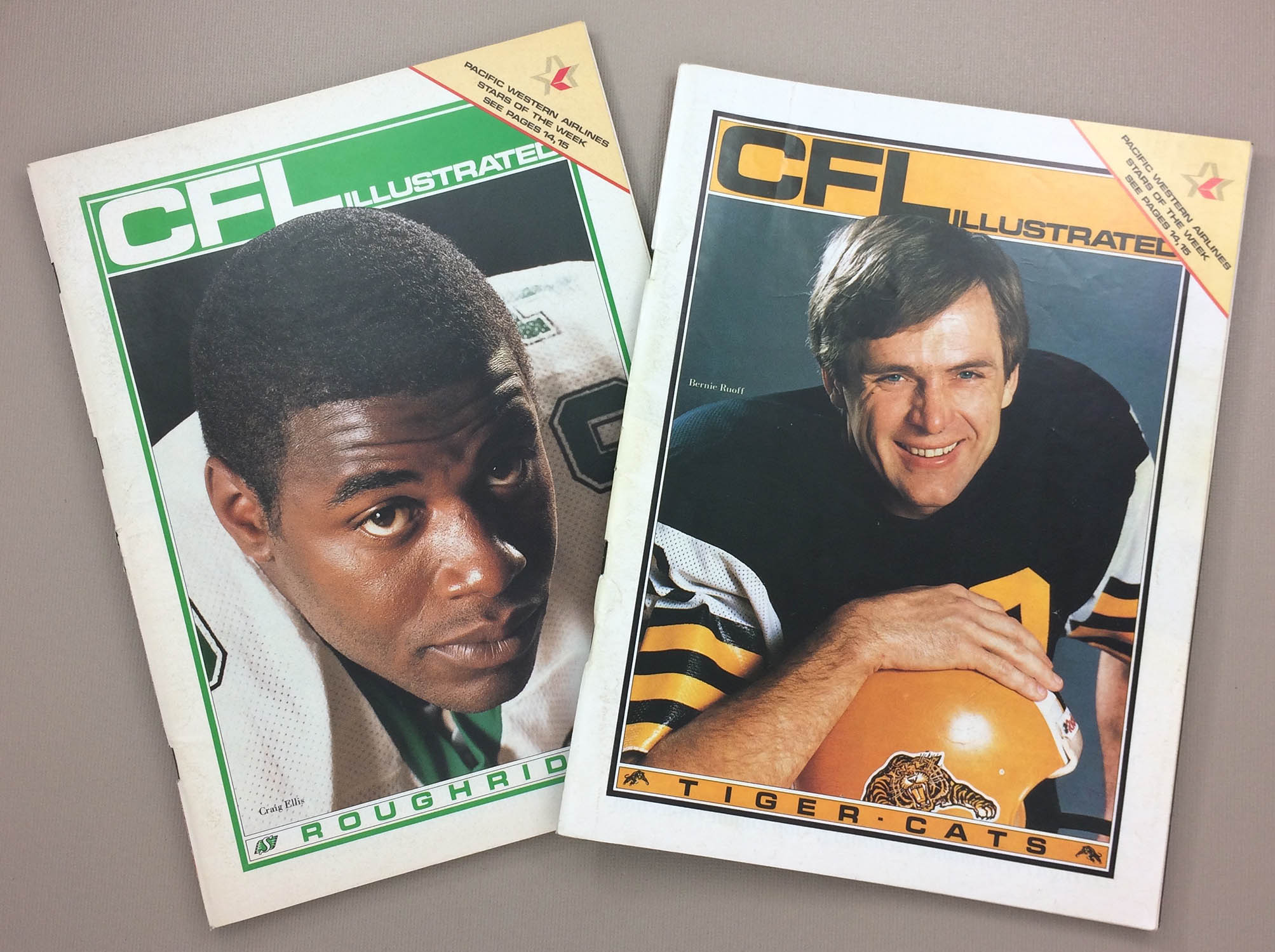 CFL Illustrated 1985 Program Set