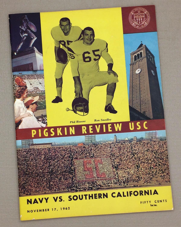 Pigskin Review USC Navy 1962 Program