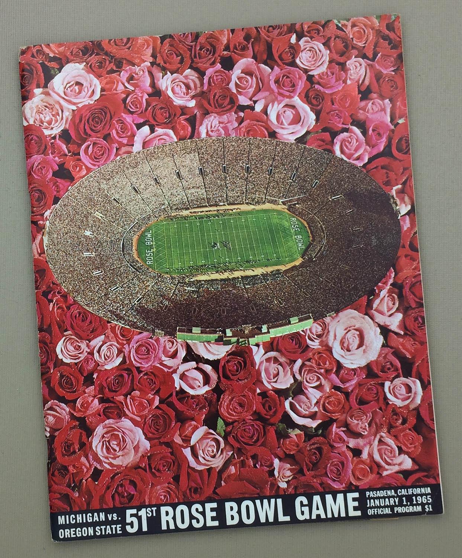 1965 Rose Bowl Program
