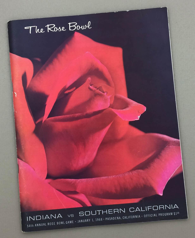 1968 Rose Bowl Program