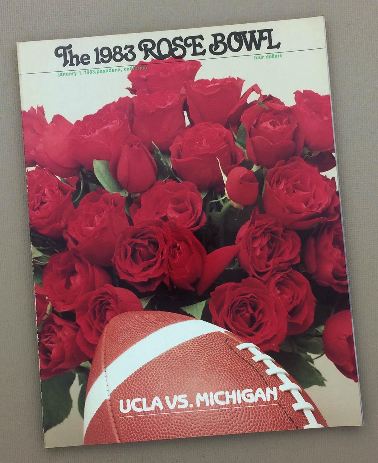 1983 Rose Bowl Program