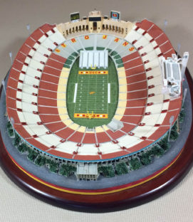 Danbury Mint Los Angeles Memorial Coliseum Replica