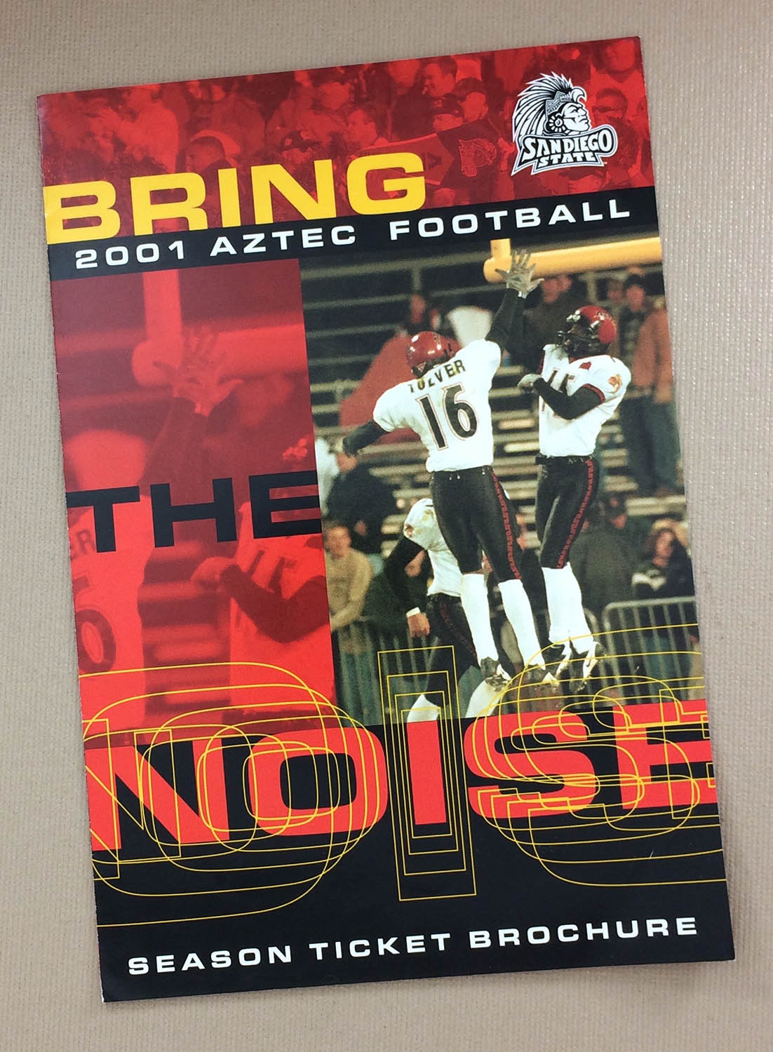 San Diego State 2001 Ticket Brochure