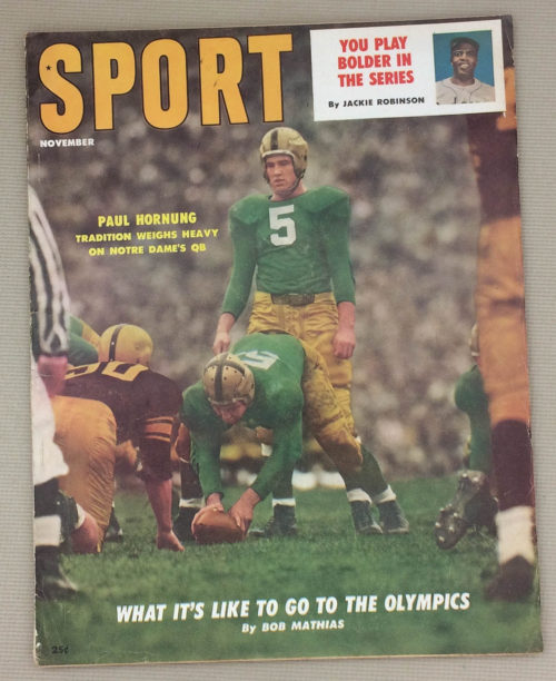 Sport Magazine November 1956 Issue