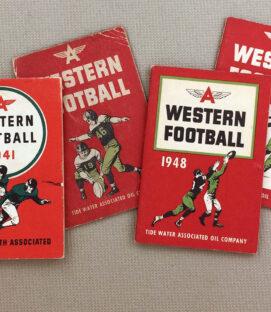 Western Football Schedule Set