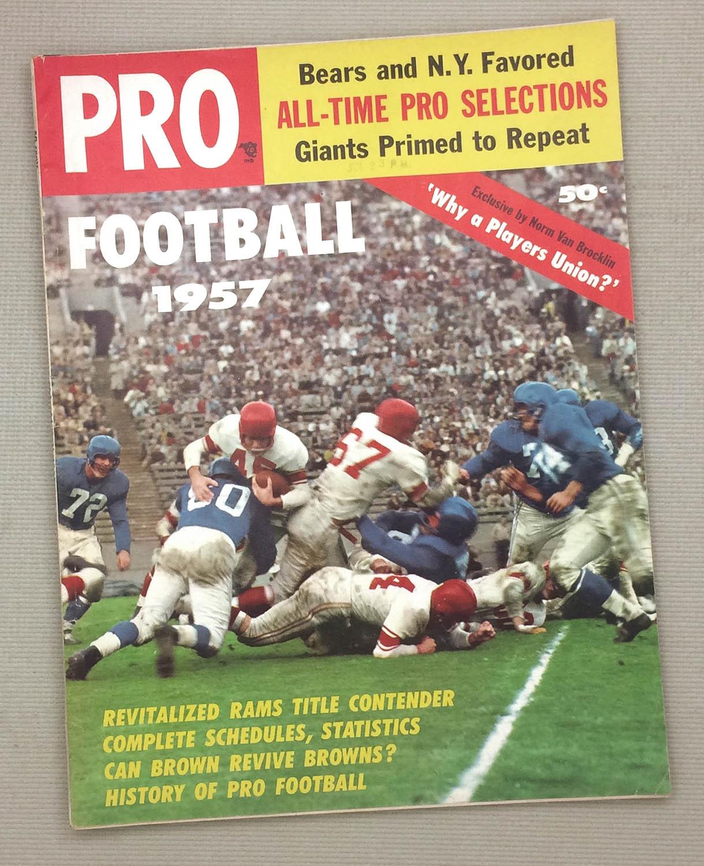 1957 Pro Football Magazine