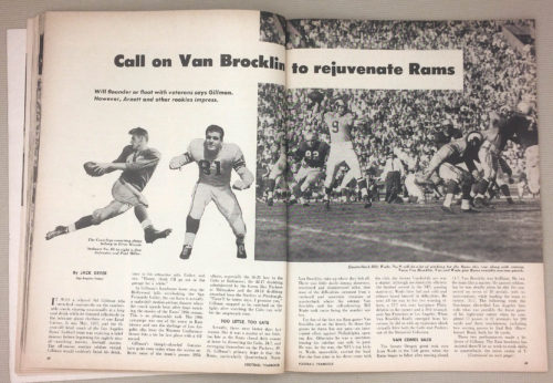 Rams Norm Van Brocklin